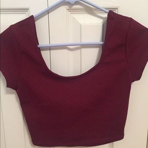 Pacsun Red Crop Top!!
